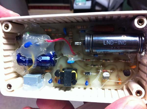 Device with LND 712 sensor