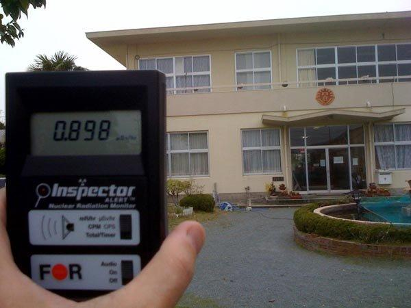 Safecasting Iwaki Schools